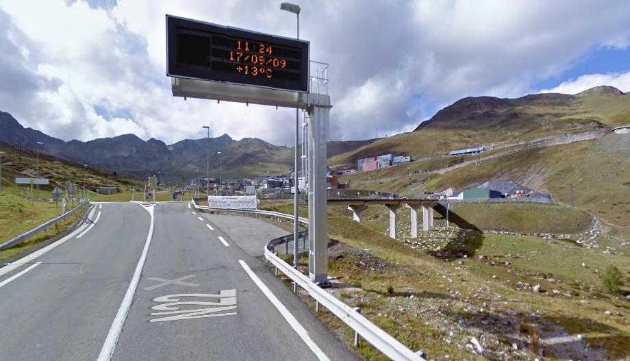 Réouverture de la RN22 vers le Pas de la Case et l'Andorre ce vendredi