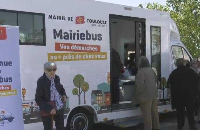 Toulouse, une mairie mobile pour faciliter les services publics