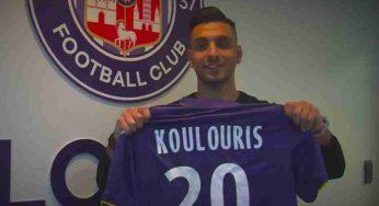 Koulouris, international grec, signe au Toulouse Football Club