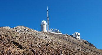 Record de chaleur battu au Pic du Midi