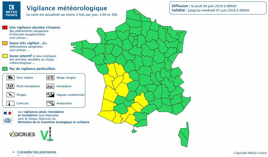 Tempête Miguel. La Haute Garonne en alerte météo