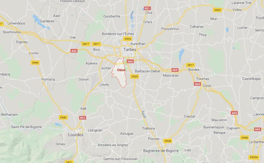 Un homme mort carbonisé dans une voiture près de Tarbes