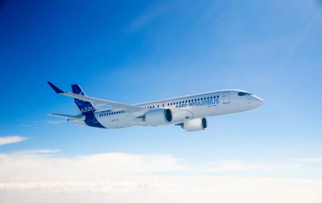 Airbus à la conquête du marché asiatique pour son modèle A220