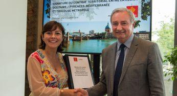 Delga et Moudenc signent un accord territorial Occitanie Toulouse à 520 millions