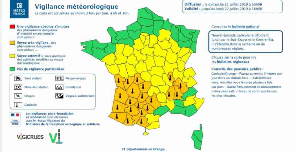 Canicule. Toulouse et la Haute Garonne en alerte orange