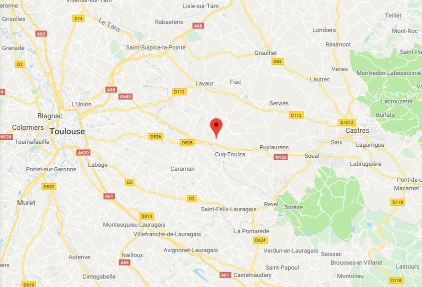 Grave accident sur la RN126 entre Castres et Toulouse