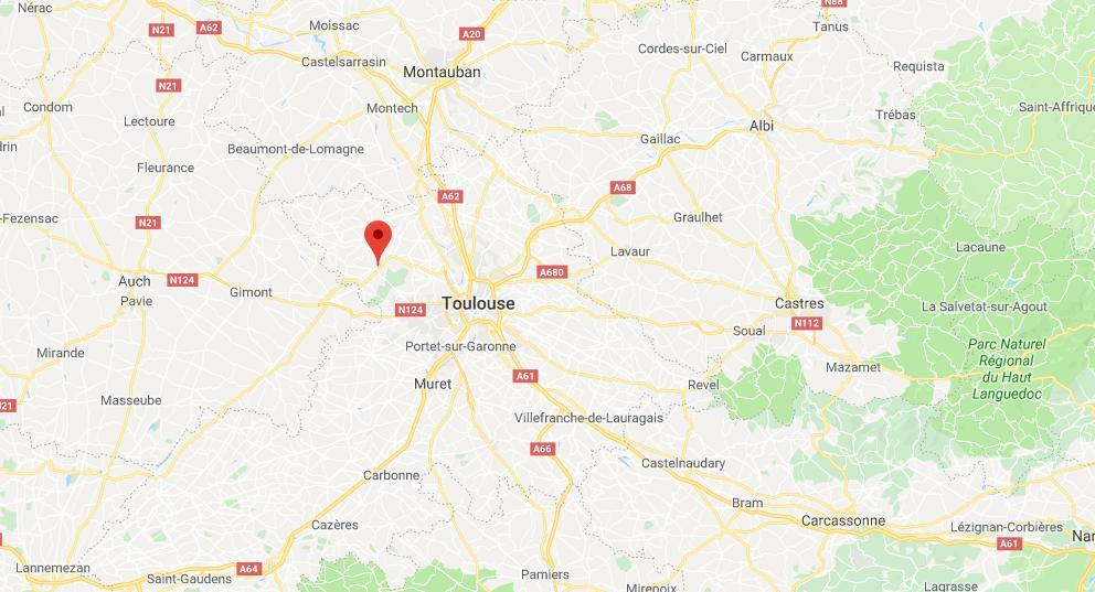 Lévignac, un homme grièvement blessé par arme à feu à l'ouest de Toulouse