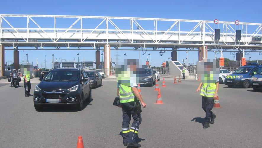 Un Champion des passages en Fraude aux péages autoroutiers arrêté au sud de Toulouse