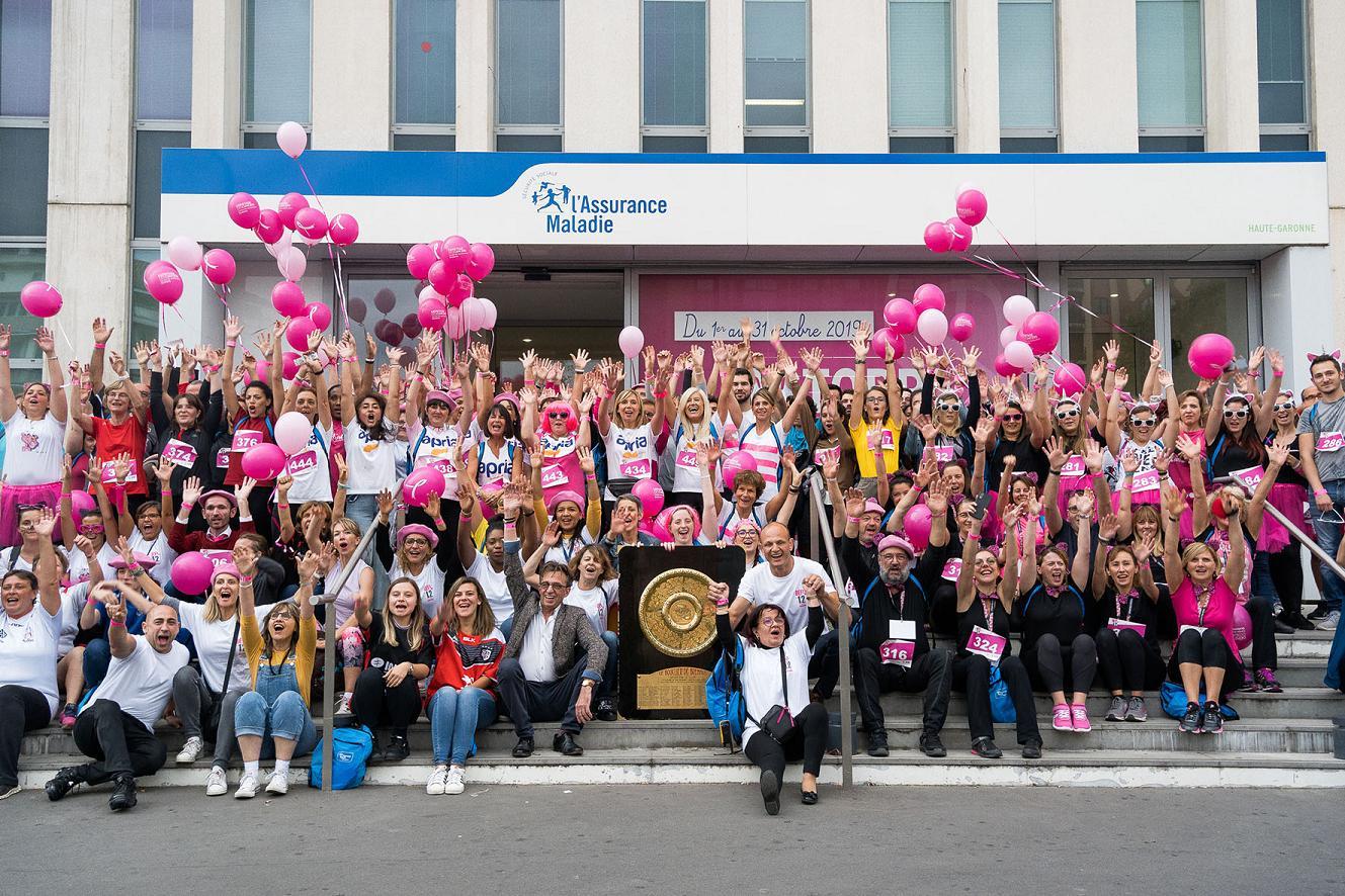 10 000 euros collectés à Toulouse pour Octobre Rose