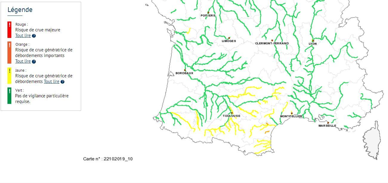 Alerte Inondations pour Toulouse et la Haute Garonne