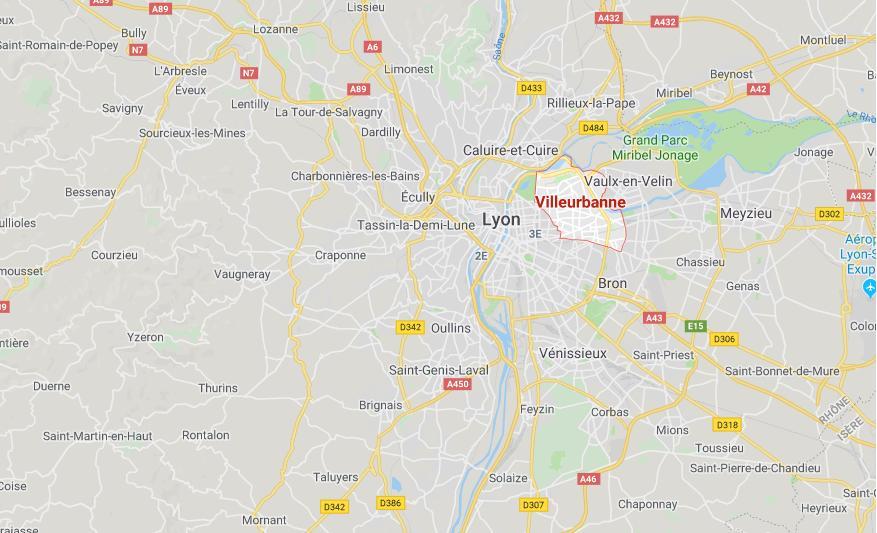 Lyon. Important incendie à Villeurbanne