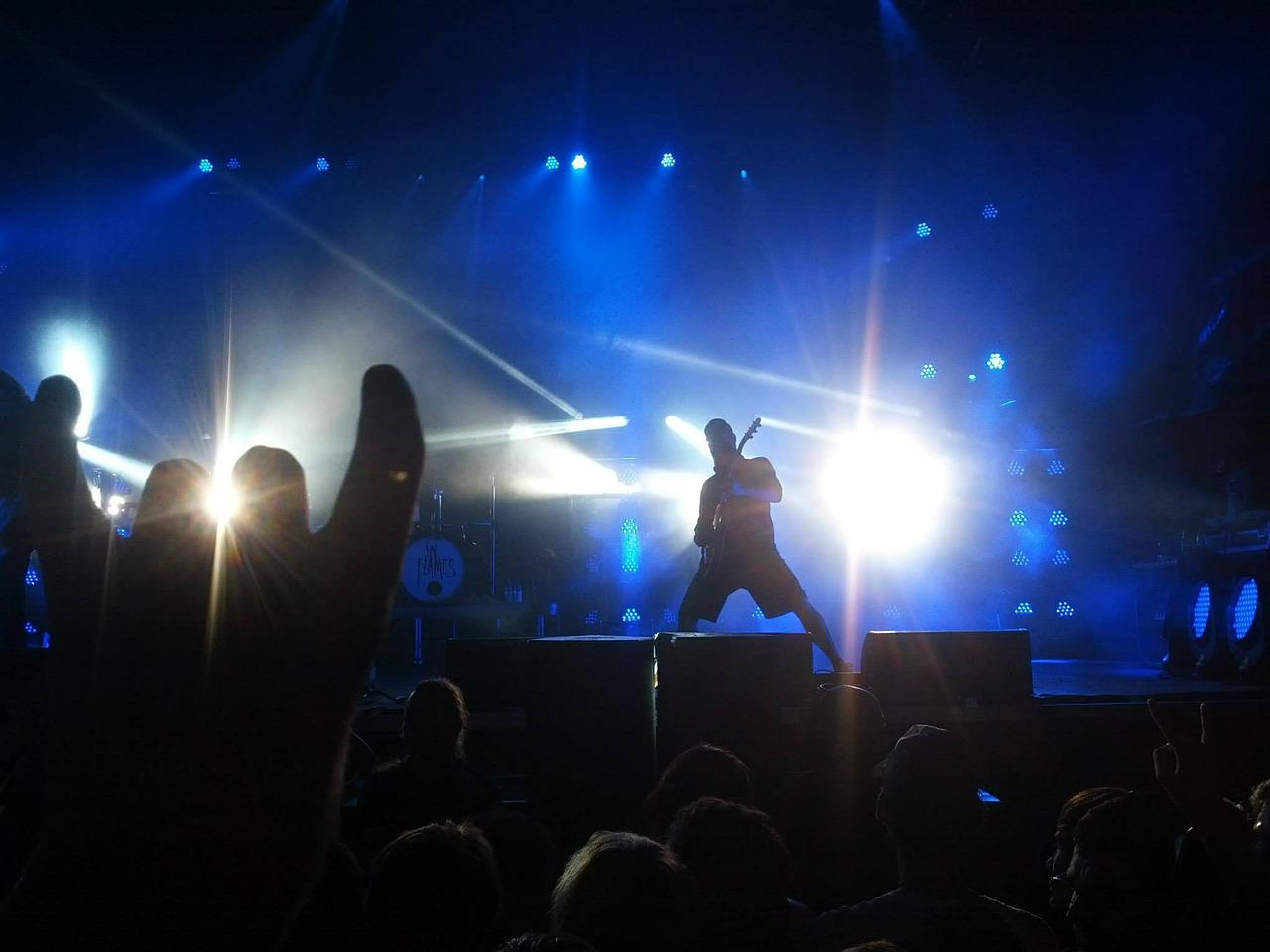 Johnny Hallyday concert sur grand écran à Labège