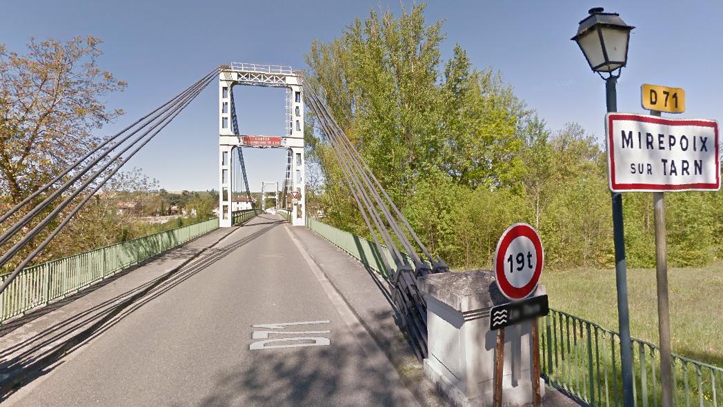 Nord de Toulouse, un pont s'effondre, plusieurs morts
