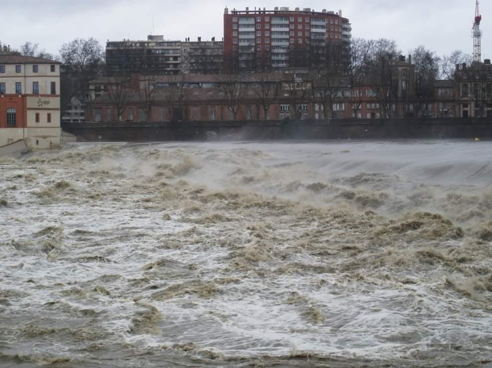 Garonne Toulouse décrue