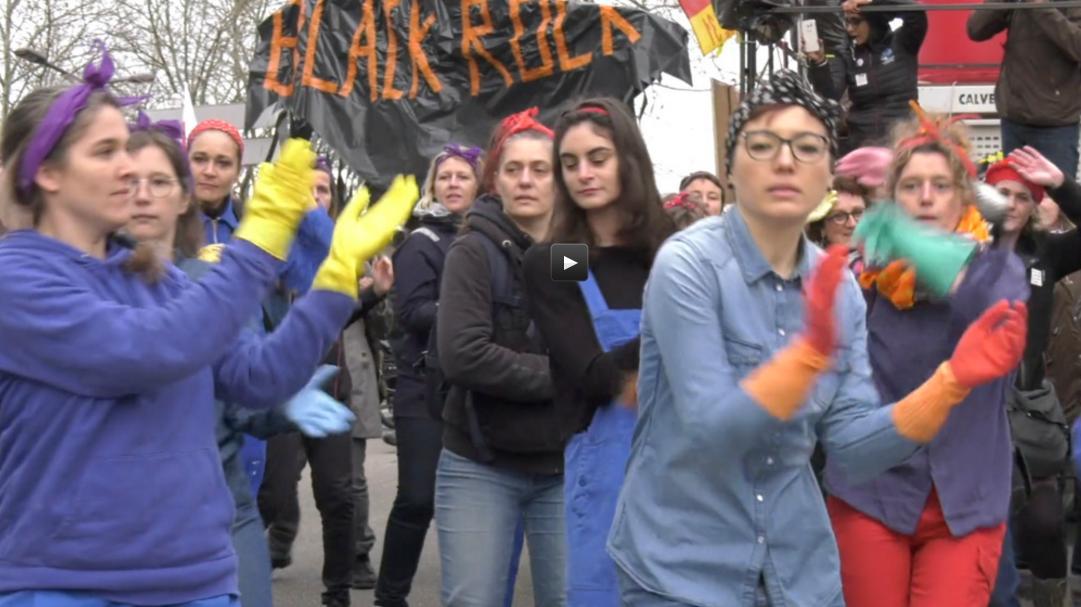 A Toulouse, les femmes très mobilisées contre la réforme des retraites