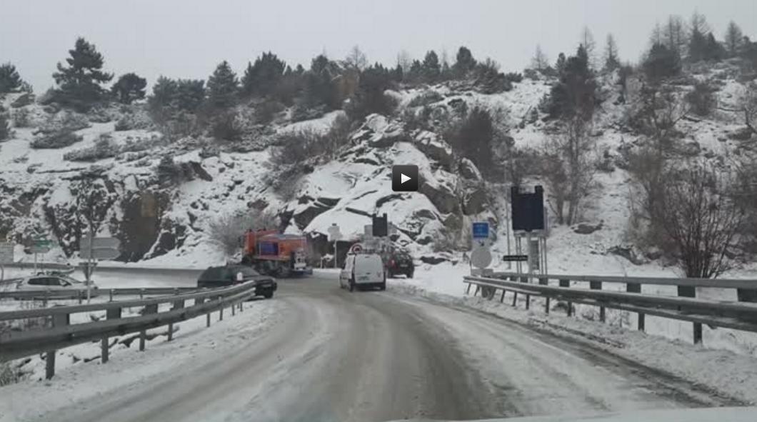 Neige, Premières images de la tempête Gloria sur les Pyrénées