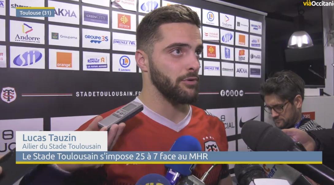 Le Stade Toulousain bat Montpellier