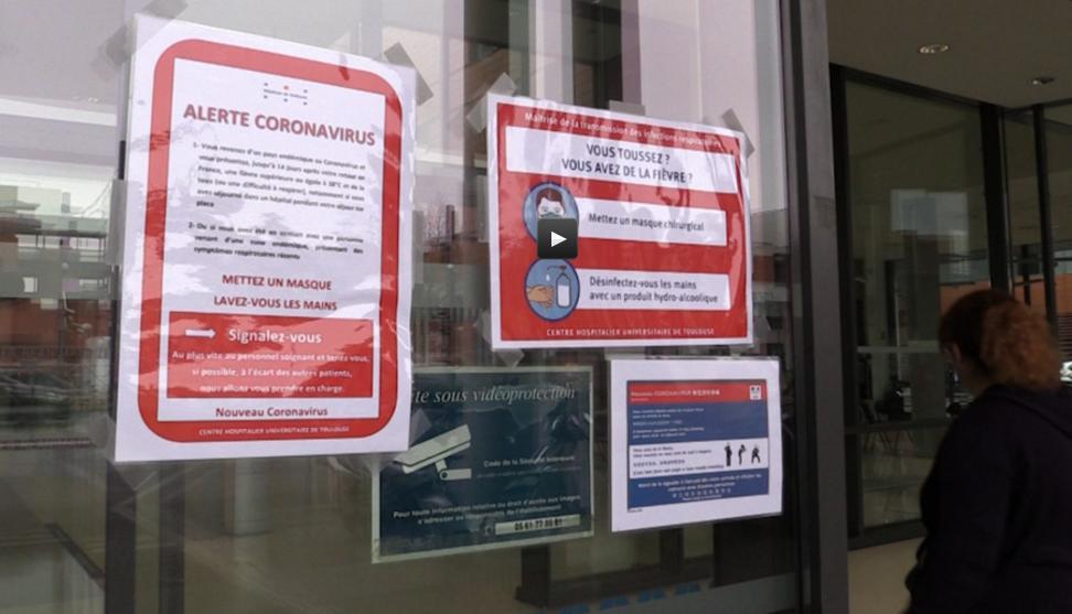Coronavirus, l'hôpital de Toulouse rassurant