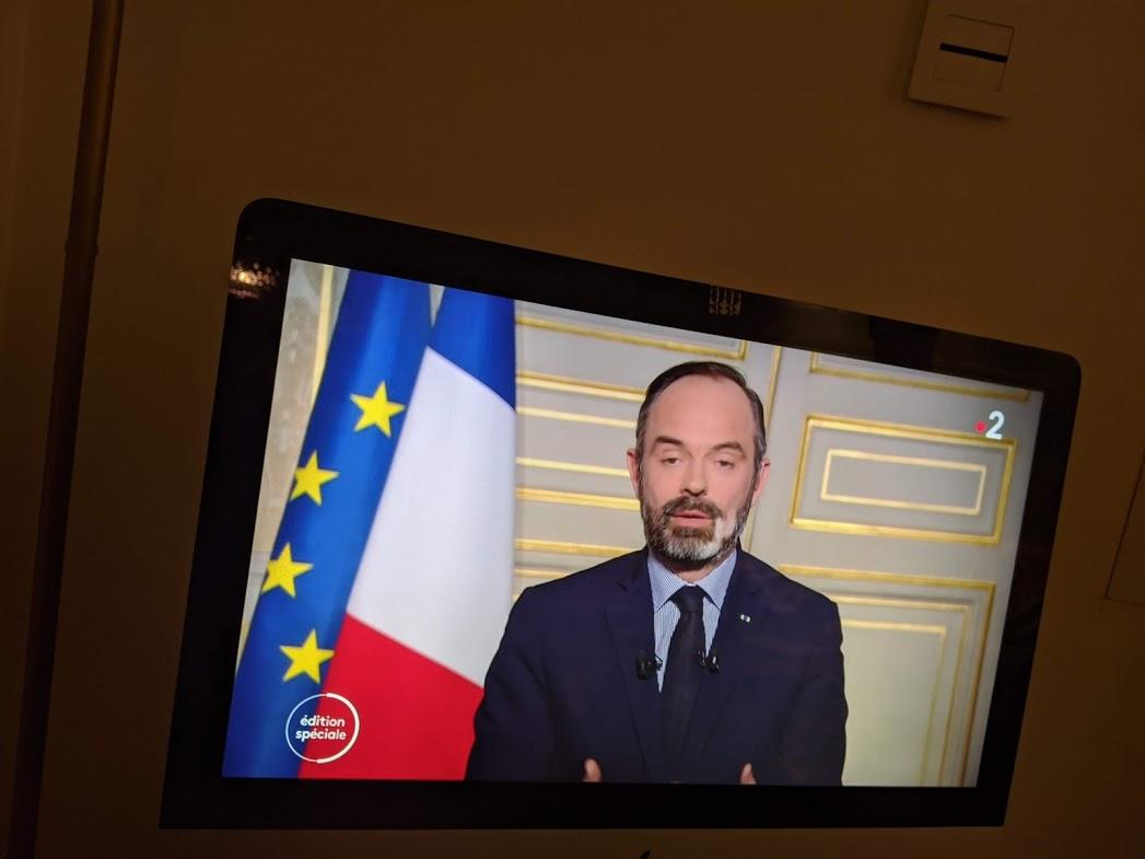 La France en état d'urgence sanitaire