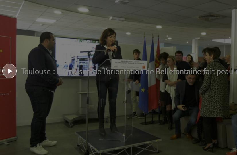 Toulouse Bellefontaine, la maison de l'orientation réamanagée