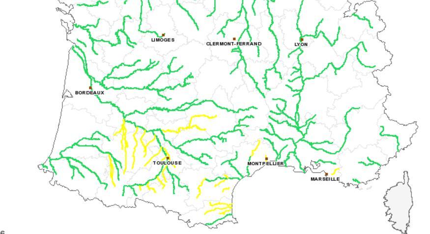 Alerte crues en Haute Garonne