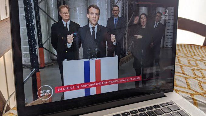 Coronavirus, Macron attendu sur le confinement et la situation sociale