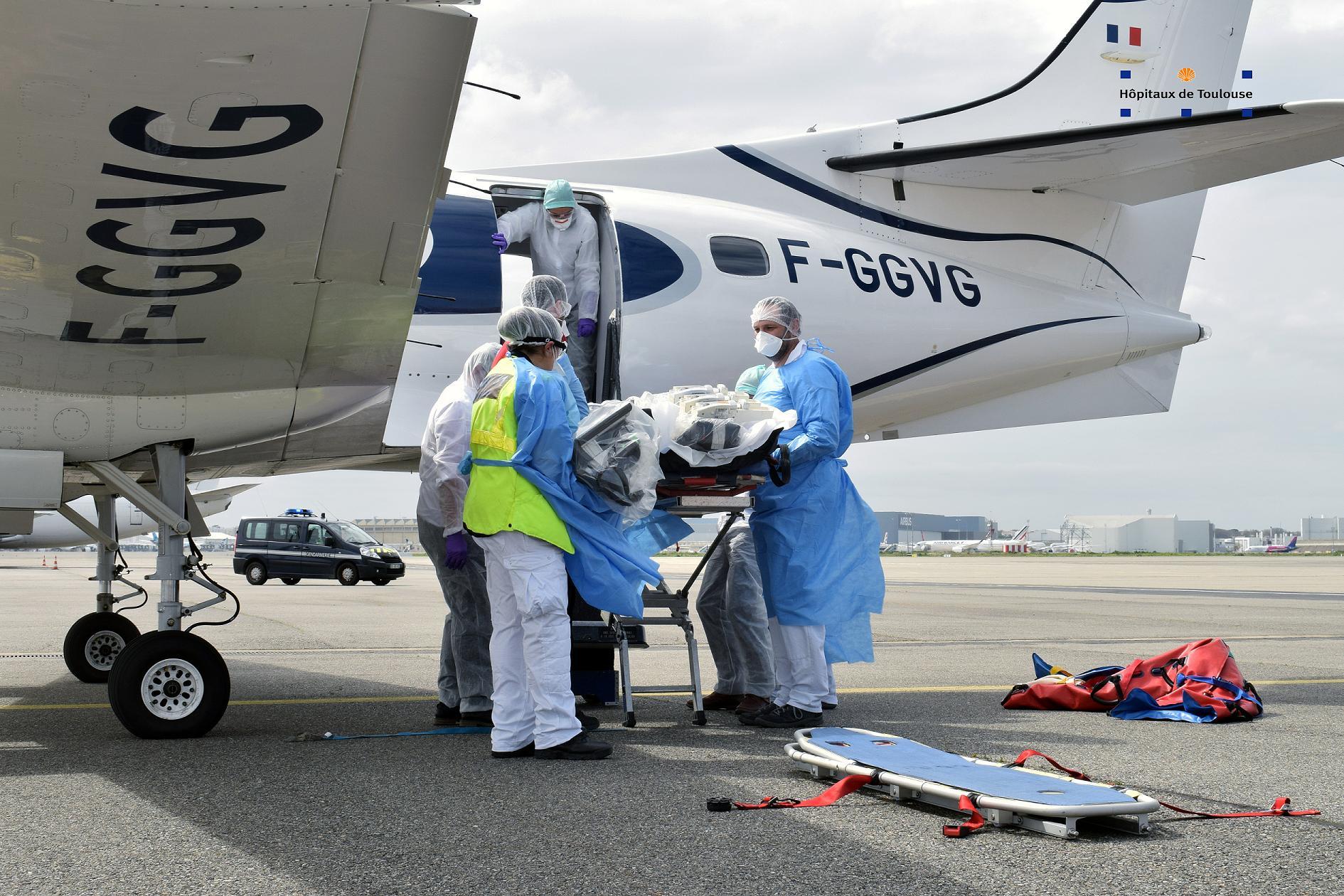 Coronavirus. 12 autres patients en réanimation vont arriver à Toulouse