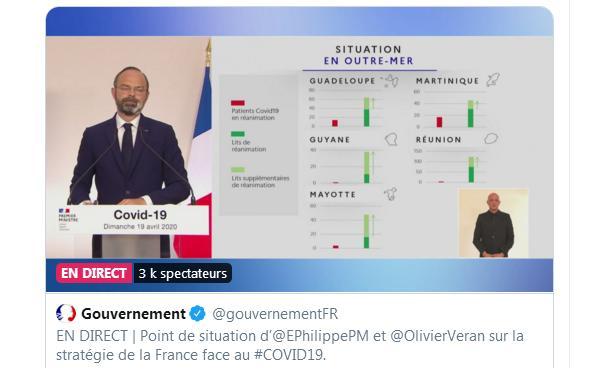 Edouard Philippe présente les principes du déconfinement
