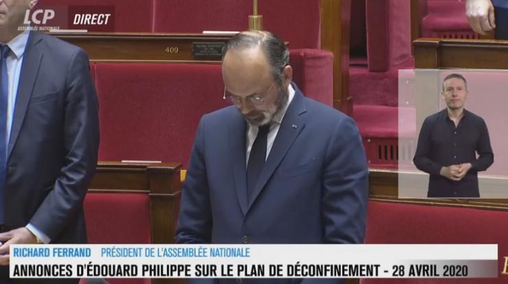 Edouard Philippe sortie confinement coronavirus