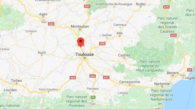 Fuite d'un produit dangereux au nord de Toulouse, périmètre de sécurité