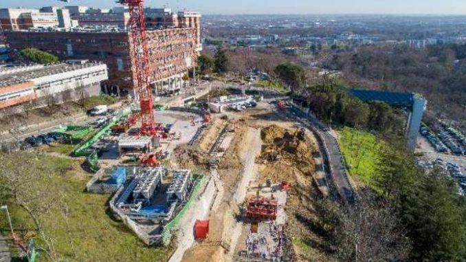 Le chantier du téléphérique de Toulouse reprend