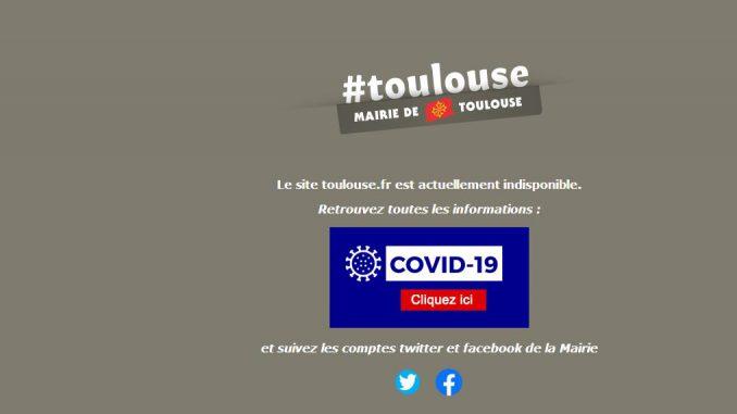 Le site internet de la mairie de Toulouse hacké (piraté)