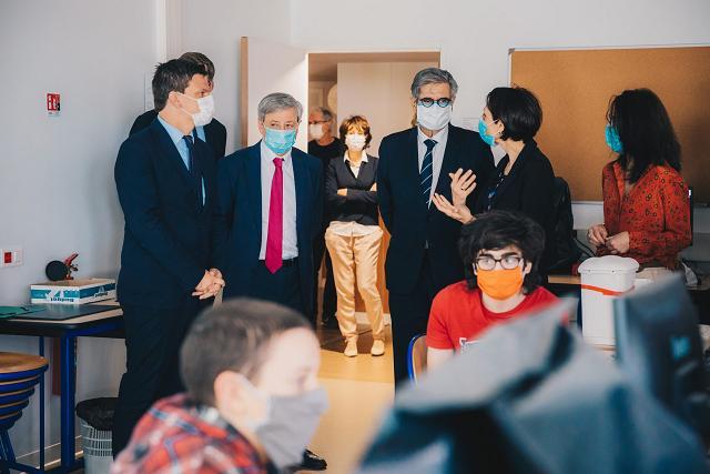 Près de 4000 élèves ont repris le chemins des collèges à Toulouse et en Haute Garonne