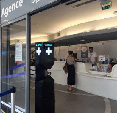 Toulouse Tisséo expérimente un nouveau distributeur de gel hydro alcoolique