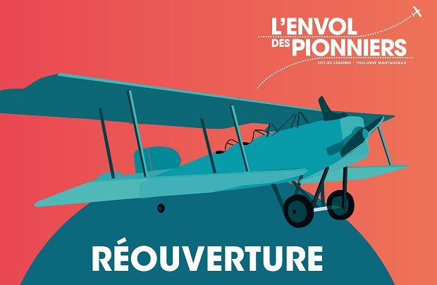 Toulouse réouverture de l'Envol des Pionniers