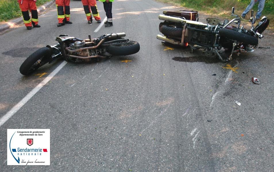 3 accidents de la route grave sur les routes du Tarn
