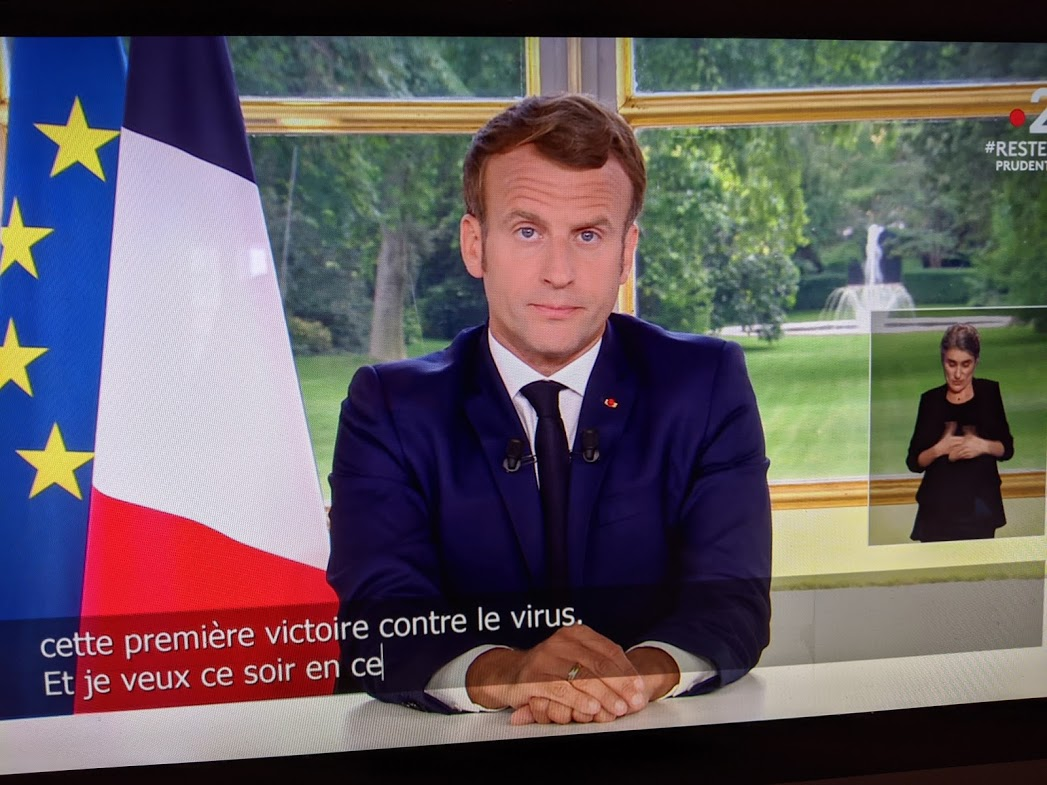 Macron ses annonces de dimanche