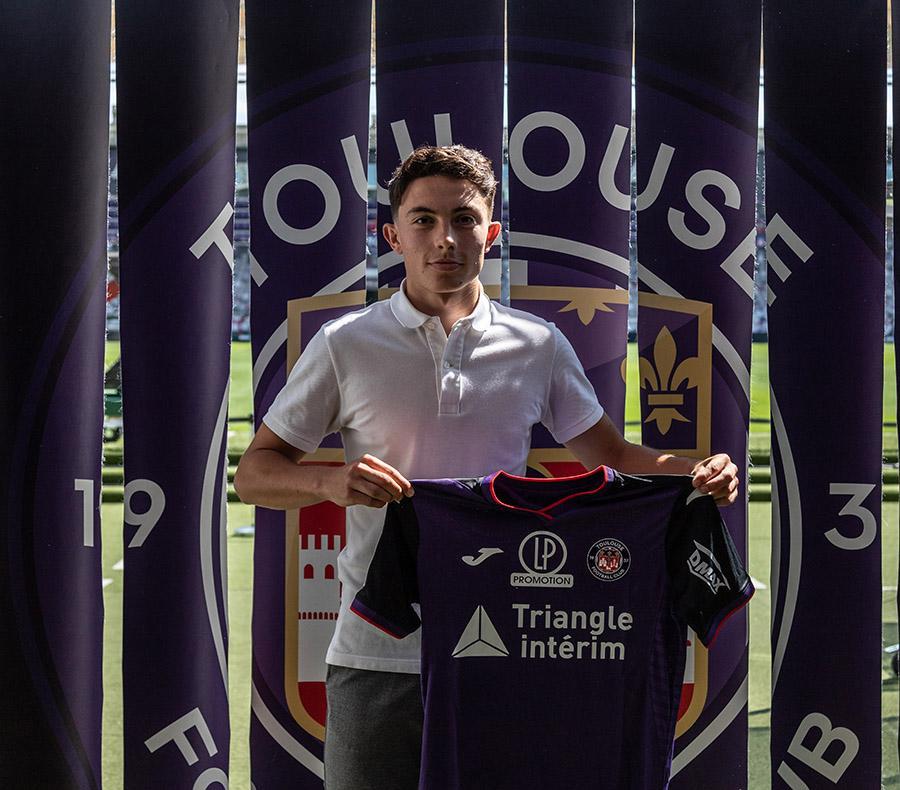 Sam Sanna passe pro au Toulouse Football Club