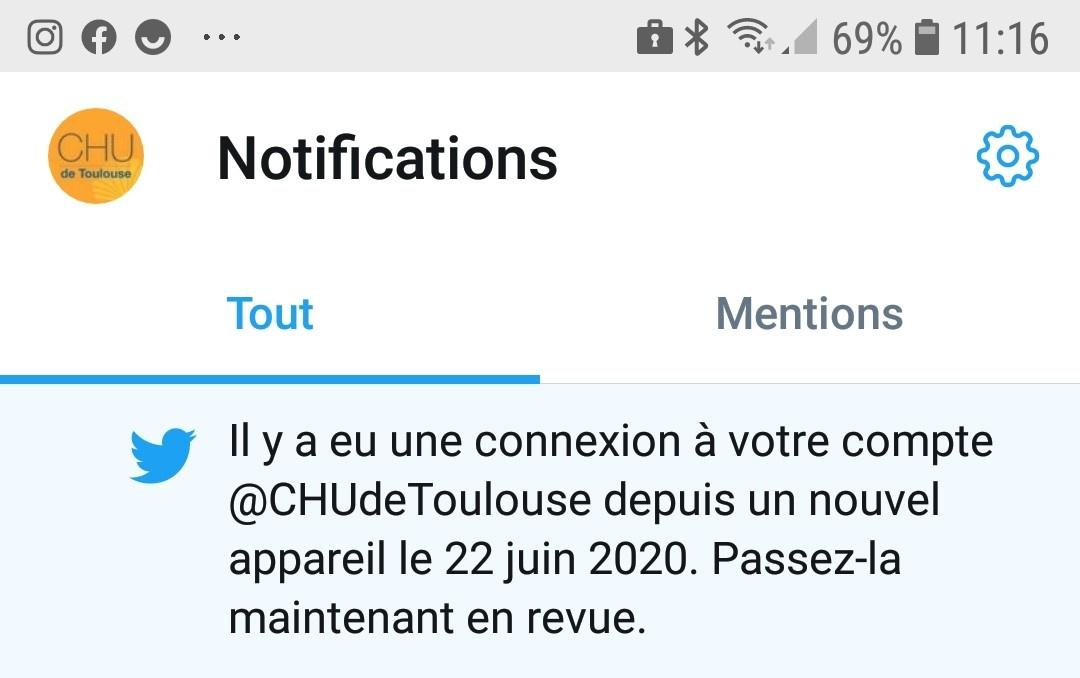 Twitter, le CHU de Toulouse relaye un post de Moudenc et dénonce un piratage