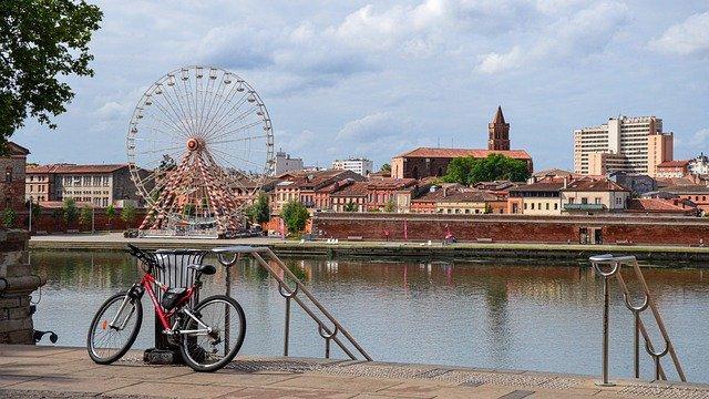 Fraicheur de la Garonne à Toulouse
