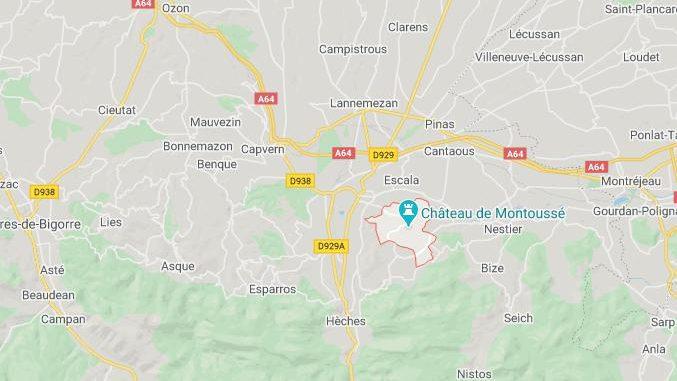 Un bébé grièvement blessé dans un accident de la route à Montoussé
