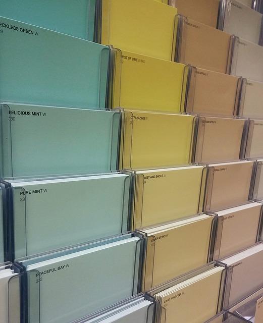 Associations de couleurs tendance pour l'intérieur