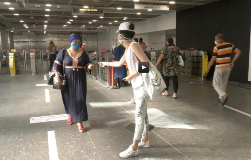 Toulouse, des ambassadeurs pour le port du masque dans le métro et les bus
