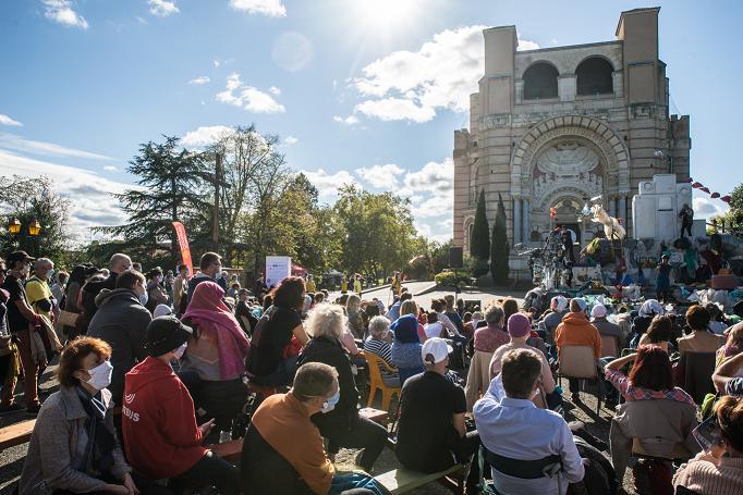 Festival de rue de Pibrac : 10 000 spectateurs accueillis en respectant les mesures sanitaires
