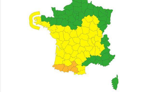Haute Garonne vents violents