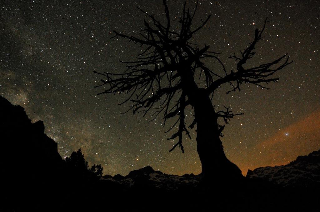 Nuit, Ciel étoilé pollution lumineuse
