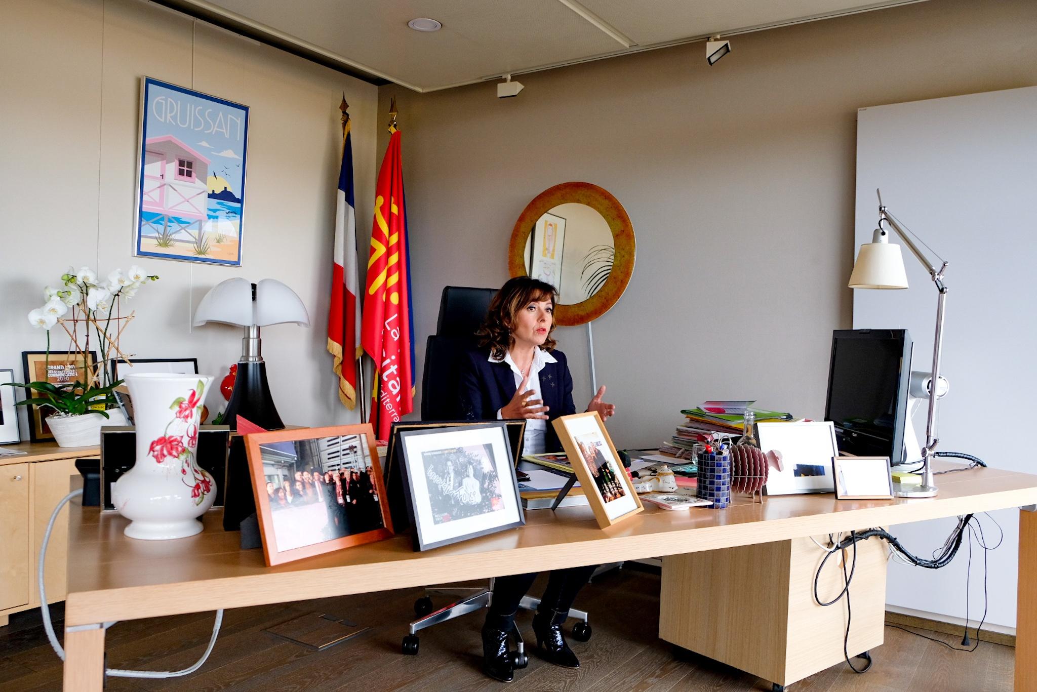 Carole Delga Occitanie
