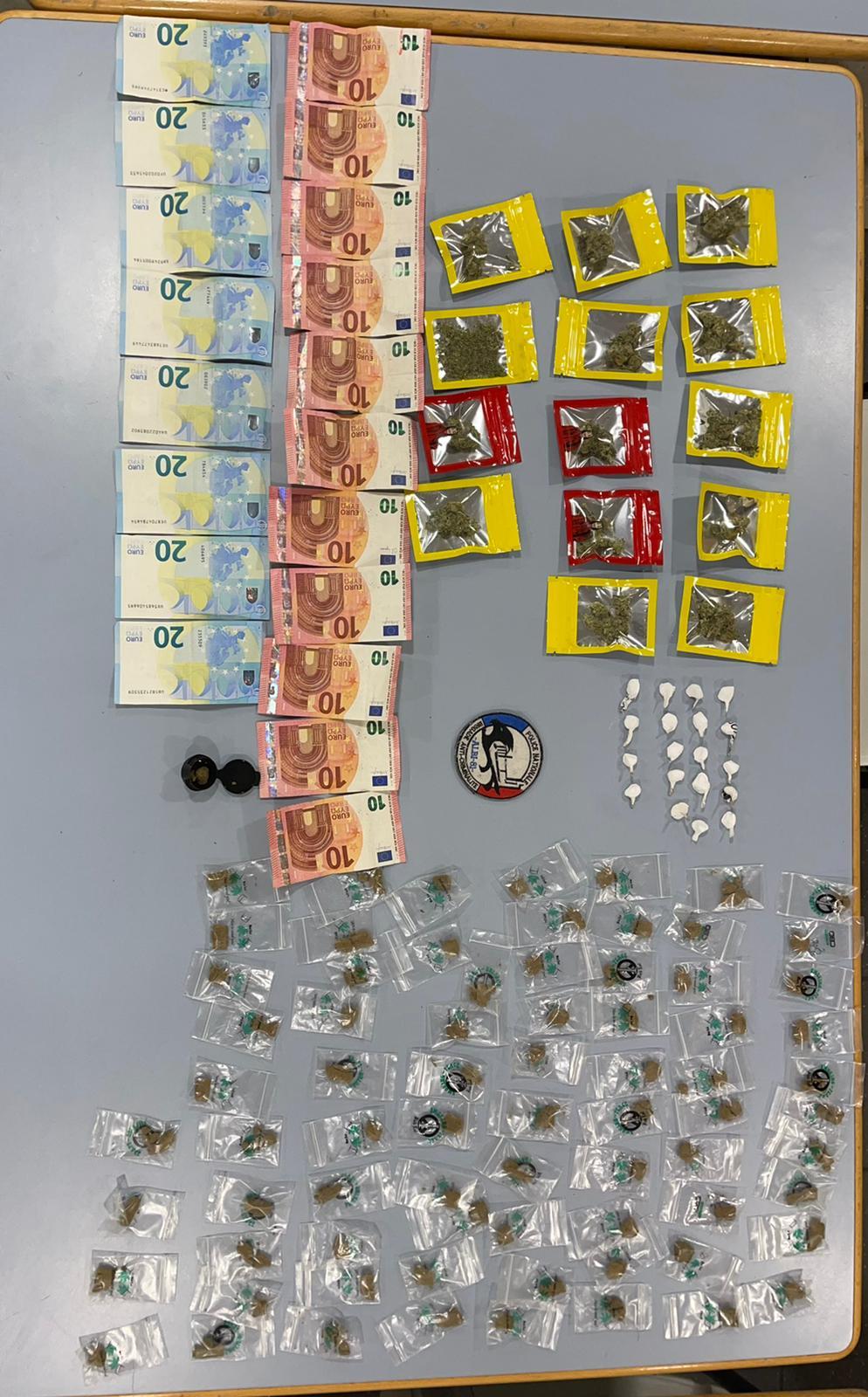 Cocaïne et cannabis saisies quartier Cantepau à Albi