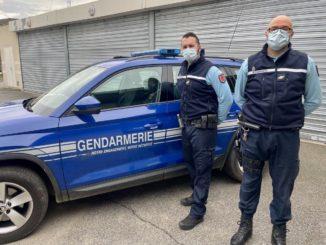 Léguevin Les gendarmes sauvent une personne du suicide