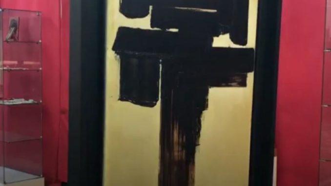 Un tableau de Soulages ayant appartenu à Senghor mis en vente à Caen